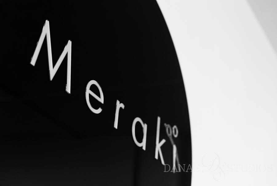 Meraki Boutqiue Shop Signage