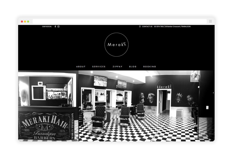 Meraki-Website-HomePage-Mockup