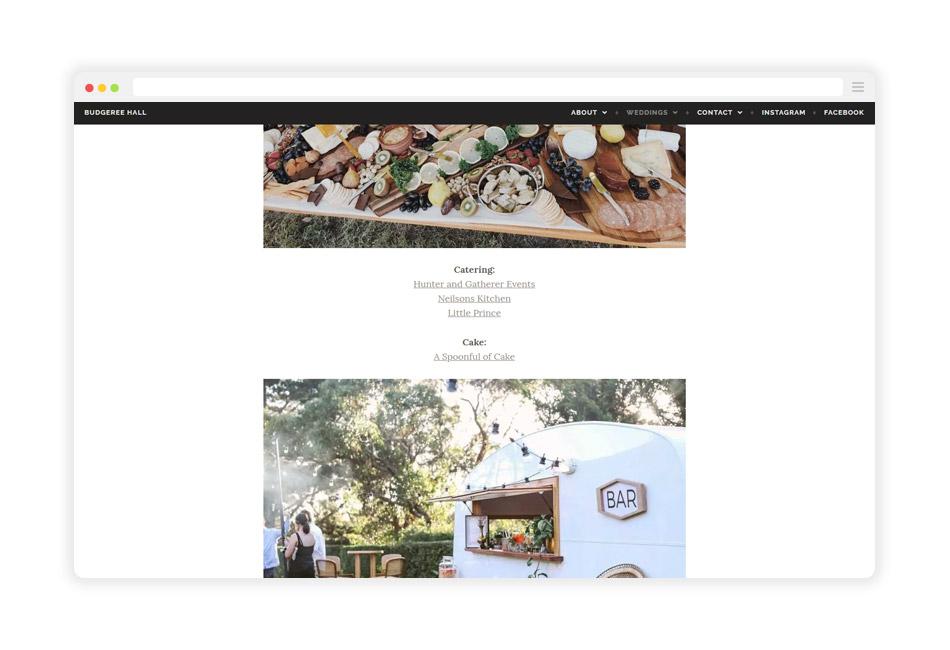BudgereeHall-Website-WeddingSuppliers-Mockup